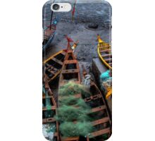 Cape Coast Fishing Canoes iPhone Case/Skin