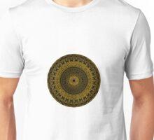 Black and Gold Mandala Unisex T-Shirt
