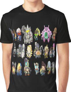 OVERWATCH HEROES Graphic T-Shirt