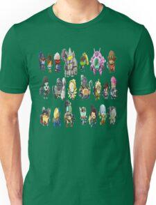 OVERWATCH HEROES Unisex T-Shirt