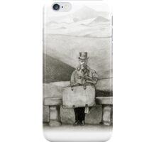 waiting in the desert iPhone Case/Skin