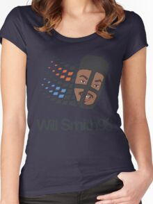 Will Smith 98 Women's Fitted Scoop T-Shirt