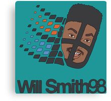 Will Smith 98 Canvas Print
