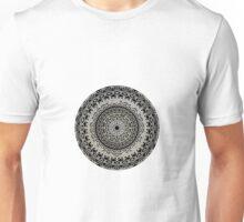 Black and White Mandala Unisex T-Shirt