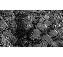 Rocks of Giants Causeway -Northern Ireland #1 Photographic Print