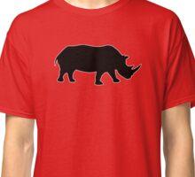 rhino Rhinoceros  Classic T-Shirt