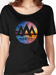 Ainos Landscape Women's Relaxed Fit T-Shirt