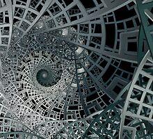 Sierpinski's Lattice I by Ross Hilbert