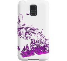 Purple Smoke Samsung Galaxy Case/Skin