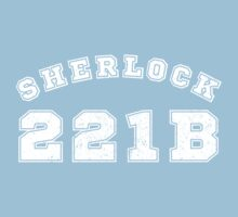 Sherlock 221b Kids Clothes