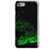 Green Smoke iPhone Case/Skin