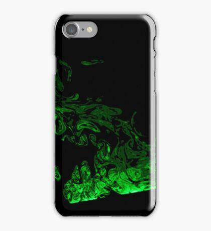 Green Smoke iPhone Case/Skin