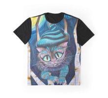 Tim Burton's Cheshire Cat Fan Art  Graphic T-Shirt