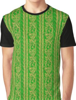 Regal Decor Design Green Graphic T-Shirt
