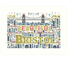 Beautiful Bristol Art Print