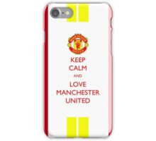 Manchester United Fans iPhone Case/Skin