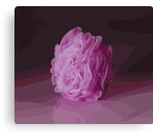 Pink Poof Canvas Print