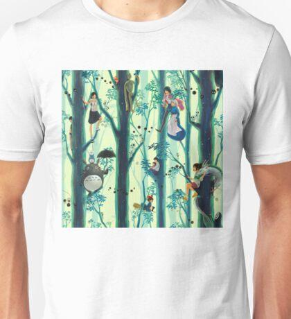 Studio Ghibli Family Tree Unisex T-Shirt