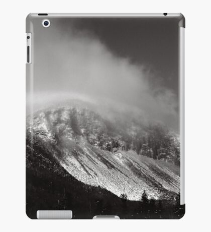 Cannon Cliffs in the Clouds iPad Case/Skin