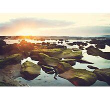 Susan Gilmore Beach Sunrise Photographic Print
