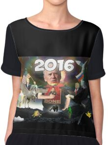 Best of 2016 Memes Chiffon Top