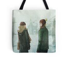 Ron & Hermione Tote Bag