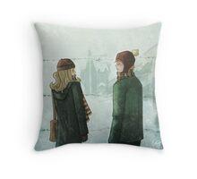 Ron & Hermione Throw Pillow