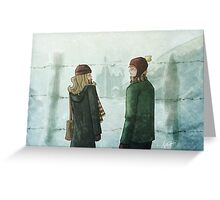 Ron & Hermione Greeting Card