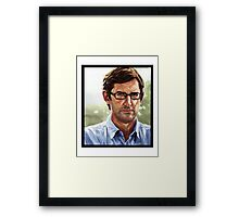 louis theroux Framed Print