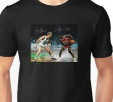 Jordan vs Bird Unisex T-Shirt