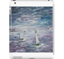 """ Sail away "" iPad Case/Skin"