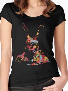 Sweet Frank - Donnie Darko Women's Fitted Scoop T-Shirt