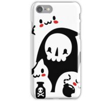 Deaths Little Helpers iPhone Case/Skin