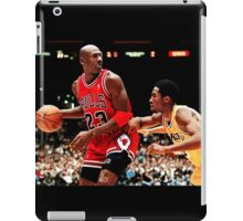 Jordan vs Kobe iPad Case/Skin