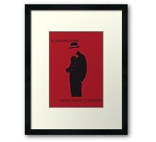 Nucky Framed Print