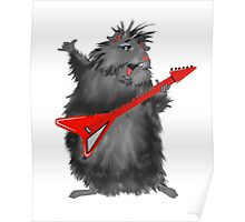 Rockin' Rodent Poster