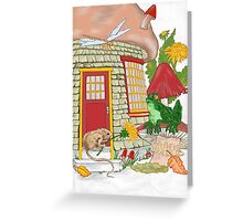 Mouse house Greeting Card