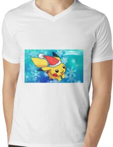 pokemon christmas Mens V-Neck T-Shirt
