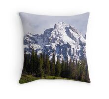 Nez Perce Peak Throw Pillow