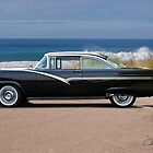 1956 Ford Fairlane Victoria 'In Profile' by DaveKoontz