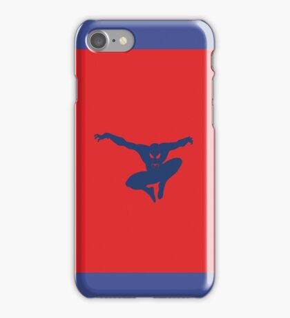 Spidey blue iPhone Case/Skin