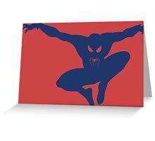 Spidey blue Greeting Card