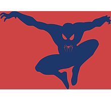 Spidey blue Photographic Print