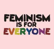 Feminism is for everyone Kids Clothes
