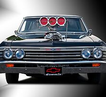 1967 Chevrolet 'High-Performance' Chevelle by DaveKoontz
