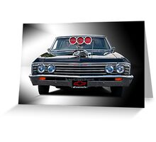 1967 Chevrolet 'High-Performance' Chevelle Greeting Card