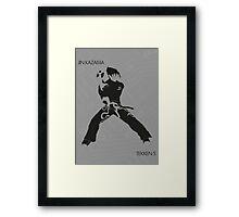 Jin Framed Print
