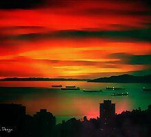 Sunset Sizzle by DiedrichDesign