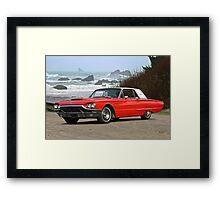 1965 Ford Thunderbird Hardtop Framed Print