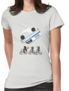 Stranger Things Kids Womens Fitted T-Shirt
